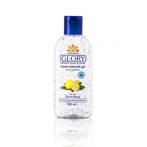 Glory Kézfertőtlenítő gél citrom illattal 100 ml