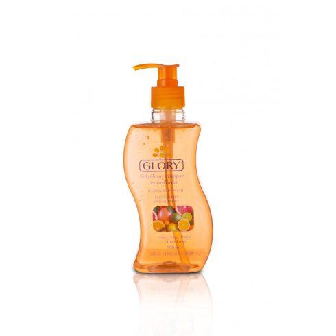 Glory folyékony szappan és tusfürdő Friss citrus illattal 500 ml
