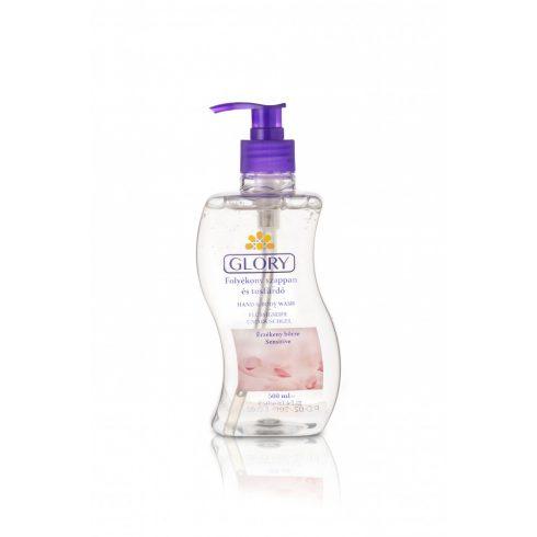 Glory folyékony szappan és tusfürdő Sensitive 500 ml