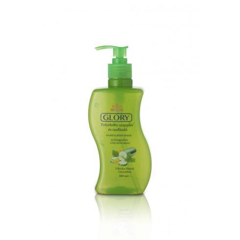 Glory folyékony szappan és tusfürdő Uborka illattal 500 ml