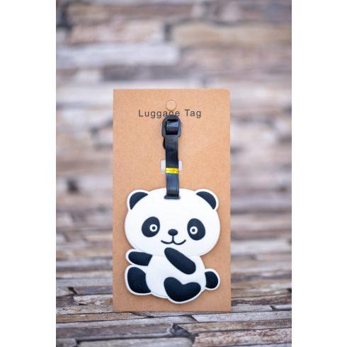 Poggyász- és bőröndjelölő - panda