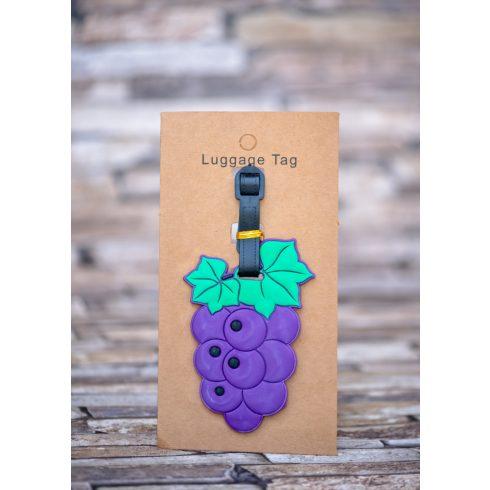 Poggyász- és bőröndjelölő - szőlő