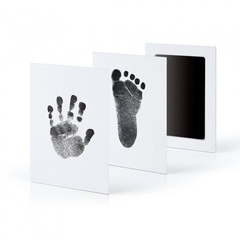 Baba kéz - és lábnyomat megörökítő szett 3 színben
