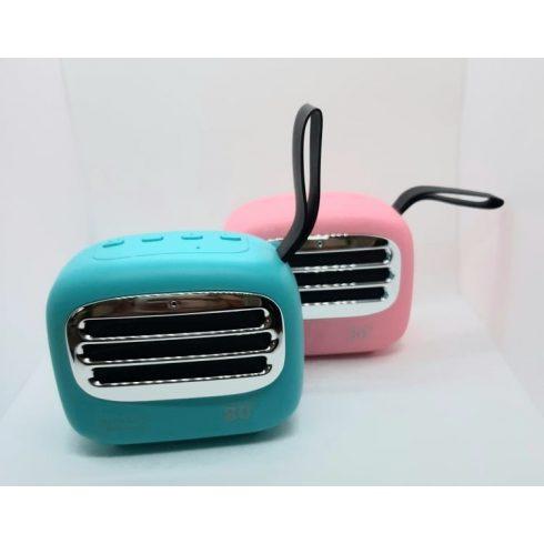 Retró hordozható bluetooth hangszóró kétféle színben
