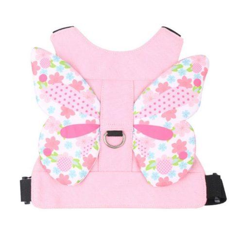Pillangós babapóráz - rózsaszín