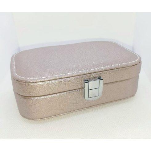 Utazó ékszeres doboz két színben